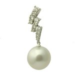 White Pearl Pendant Enhancer