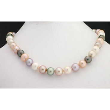 Pink Pearl Necklace - 1753