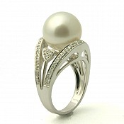 Romance 18K South Sea Pearl Ring