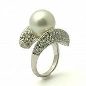Isabella <br/> 18K South Sea Pearl Ring