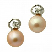 Julia 18K Pearl Stud Earrings