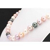 Pink Pearl Necklace - 1556