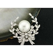 1580 - South Sea Pearl Brooch Pin