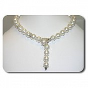 Giselle Diamond <br/> 18K South Sea Pearl Necklace