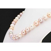 Pink Pearl Necklace - 1695