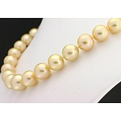 Francesca <br/> Golden South Sea Pearl Necklace