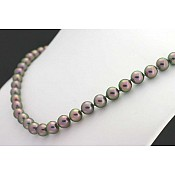Alice <br/> Akoya Black Pearl Necklace