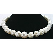 1811 - Baroque <br/> South Sea Pearl Necklace