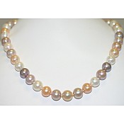 Freshwater Pink Pearl Necklace - 1821