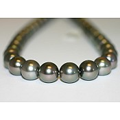 Tahitian Black Pearl Necklace - 1927