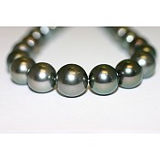 Tahitian Black Pearl Necklace - 1932