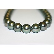 Tahitian Black Pearl Necklace - 1936