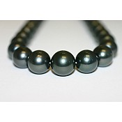 Tahitian Black Pearl Necklace - 1957