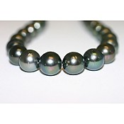 Tahitian Black Pearl Necklace - 1961