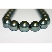 Tahitian Black Pearl Necklace - 1963