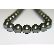 Tahitian Black Pearl Necklace - 1965