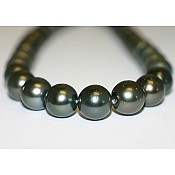 Tahitian Black Pearl Necklace - 1975