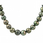 Tahitian Black Pearl Necklace - 1978
