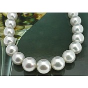 South Sea Pearl Necklace Strand - 2197